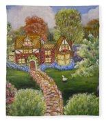 Manor Of Yore Fleece Blanket
