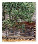 Manzana Schoolhouse - 1895 Fleece Blanket