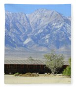 Manzanar A Blight On America 1 Fleece Blanket