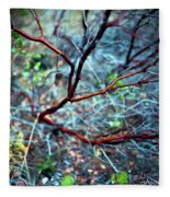 Manzanita Abstract Fleece Blanket