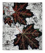 Maple Mania 17 Fleece Blanket