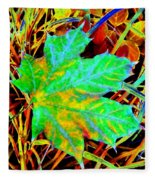 Maple Mania 21 Fleece Blanket