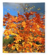 Maple Mania 8 Fleece Blanket