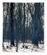 Maple Sirup Infrared N01 Fleece Blanket