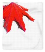 Maple Fleece Blanket