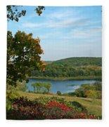 Maplewood State Park Fleece Blanket