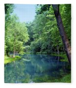 Maramec Springs 2 Fleece Blanket