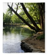 Maramec Springs 5 Fleece Blanket