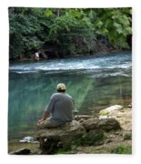 Maramec Springs 6 Fleece Blanket