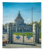 Marasesti - First World War Monument Fleece Blanket