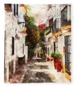 Marbella, Andalusia - 01 Fleece Blanket