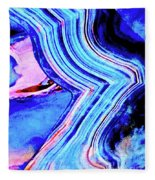 Marble 201 Fleece Blanket