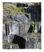 Marble Quarry  Fleece Blanket
