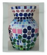 Marble Vase Fleece Blanket