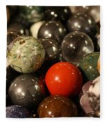 Marbles Fleece Blanket