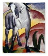 Marc: Grey Horse, 1911 Fleece Blanket