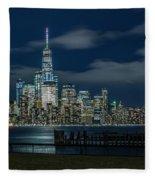 March In New York_2 Fleece Blanket