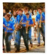 Marching Band - Junior Marching Band  Fleece Blanket