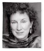 Margaret Atwood Fleece Blanket