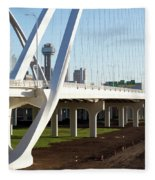 Margaret Mcdermott Bridge 122117 Fleece Blanket