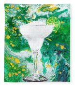 Margarita Fleece Blanket