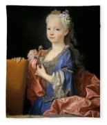 Maria Anna Victoria Of Bourbon. The Future Queen Of Portugal Fleece Blanket