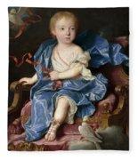 Maria Antonia Fernanda De Borbon. Infanta Of Spain. Future Queen Of Sardinia Fleece Blanket