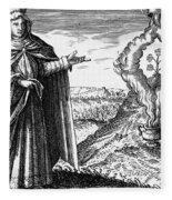 Maria The Jewess, First True Alchemist Fleece Blanket