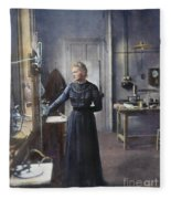 Marie Curie (1867-1934) Fleece Blanket