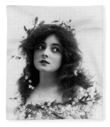 Marie Doro 1902 Fleece Blanket