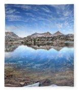 Marie Lake - John Muir Trail Fleece Blanket