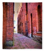 Marietta Alley Fleece Blanket