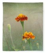 Marigold Fancy Fleece Blanket