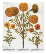 Marigolds, 1613 Fleece Blanket