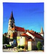 Marija Bistrica Croatia Fleece Blanket