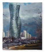 Marilyn Monroe Towers Mississauga Fleece Blanket