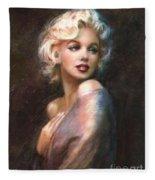 Marilyn Romantic Ww 1 Fleece Blanket