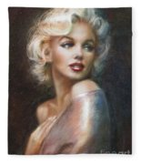 Marilyn Ww Soft Fleece Blanket