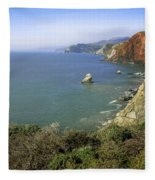 Marin Headlands 1 Fleece Blanket
