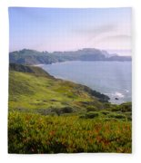 Marin Headlands 2 Fleece Blanket