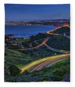 Marin Headlands Fleece Blanket