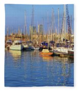 Marina - Darcena Nacional - Barcelona Fleece Blanket