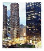 Marina Towers Fleece Blanket