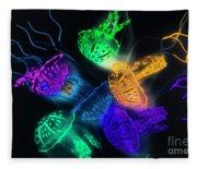 Marine Glow Fleece Blanket