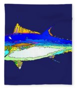 Marine Life Fleece Blanket