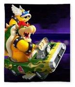 Mario Kart Wii Fleece Blanket