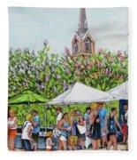 Marion Square Market Fleece Blanket