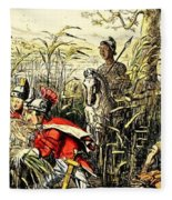 Marius Discovered In The Marshes At Minturn Fleece Blanket