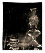 Marjorie Kinnan Rawlings Kerosene  Lamp Fleece Blanket