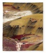 Marked Hills Fleece Blanket